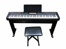 Casio Electric Piano CDP-200R w/CS-43P Stand, Power Cord & Bench | No Foot Pedal