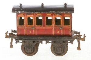 AB933 : Early Bing Gauge1 1st & 2nd Class Passenger Coach 1016/1