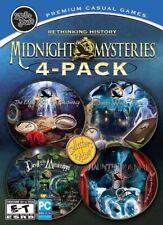4 NEW PC Midnight Mysteries - Poe+Salem Witch+Devil Mississippi+Haunted Houdini