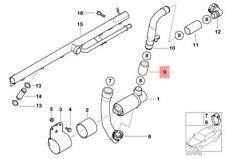 MISHIMOTO Silicone Tubo Di Aspirazione Stivale Nero BMW E46 M3 01-06