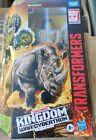 Transformers Kingdom Beast Wars Voyager RHINOX MAXIMAL PREDACON NEW IN STOCK