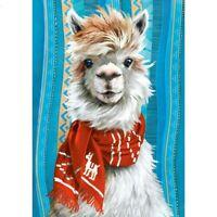 5D Full Drill DIY Diamond Painting Alpaca Embroidery Cross Stitch Kits Art New