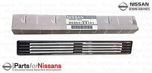 GENUINE NISSAN 1970-1973 240Z S30 REAR DECK CHROME GRILLE VENT NEW OEM