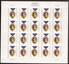 US 4704b Purple Heart Medal forever sheet C111111 MNH 2014