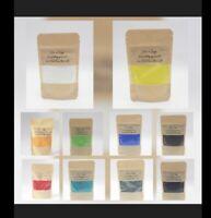 Hochwertige Künstlerpigmente Farbenset #X  10 Beutel auch Einfärben Epoxidharz