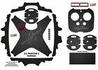 Black Honeycomb DJI Phantom 4 P4 Skin Wrap Decal Sticker Vinyl Ultradecal Skinz