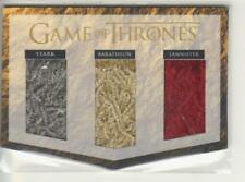 Game of Thrones Valyrian Steel Triple Banner House Flags Relic Card TR1