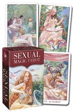 Sexual Magic Tarot Miniature deck NEW Sealed 78 color card L. Taun M. de Luca