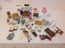 LUNDBY DOLLS HOUSE FURNITURE LOT SPARES OR REPAIRS