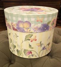 Crabtree Evelyn Hat Box