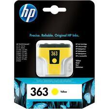 HP 363 gelb PHOTOSMART 3110 3210 3310 8250 C5180 C8180 D7160 D7460 OVP 07/2011