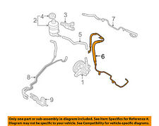 KIA OEM 2006 Sedona-Power Steering Pressure Hose 575104D200