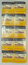 Kodak lot de 10 films TMAX 100 36 poses 100 ISO, utilisable jusqu'à mai 2019
