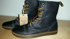 Dr Martens Hammersmith Fold Down Boots Woman's US 5 Black NEW