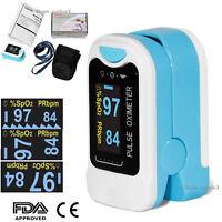 CONTEC Finger tip Pulse Oximeter Blood Oxygen meter SpO2 Heart Rate Monitor USA