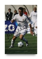 Michael Owen Hand Signed 6x4 Photo Liverpool England Real Madrid Autograph + COA