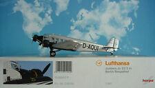 Herpa Wings 1:160 Junkers Ju 52/3 Lufthansa Berlin-Tempelhof D-AQUI 019040