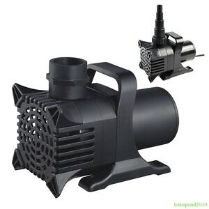 Fish Pond Pump Water Fountain Waterfall Pump 800-10,000 GPH Submersible All Size