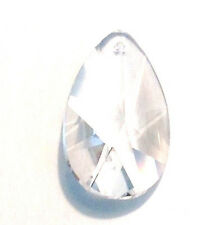 38mm Asfour Clear Teardrop Crystal Prisms Wholesale Feng Shui 30% Leaded CCI