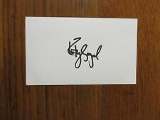 "KATEY  SAGAL (""Married...with Children/Sons of Anarchy"") Signed 3 x 5 Index Card"