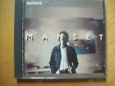 """cd GERARD MANSET """"matrice"""""""