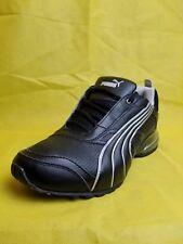 PUMA Tazon 6 FM Silver & Black Running Shoes Men's (Size: 8.5)