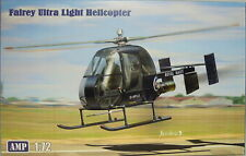 Fairey Ultra Light Helicopter, Royal Navy,1:72, AMP, Plastik, NEUHEIT