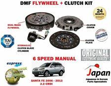 FOR HYUNDAI SANTA FE 2.2 CRDI 6 SPEED 2006-2012 DUAL MASS FLYWHEEL + CLUTCH KIT