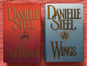 Danielle Steel - The Ranch & Wings - Hardcover Books