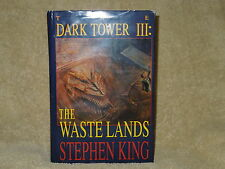 "STEPHEN KING ""THE WASTELANDS THIRD BOOK OF THE DARK TOWER SERIES'FIRST EDITION"