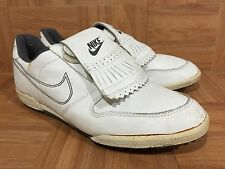 on sale 9dc84 ec467 Vintage🔥 Nike Air Double Strap 1988 Turf Indoor S 11 Made In Taiwan Golf  Shoe