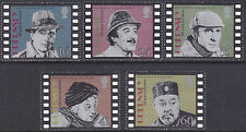Guernsey 1996 Centenary of Cinema - Screen Detectives Set UM SG711-5 Cat £3.75