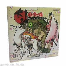 Okami Illustrated Story Book Japanese Manga art book Capcom Japan Import Used