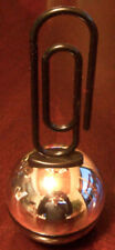 """Vntg. 1978 Avon for Men """"Get The Message Paperclip"""" Clint After Shave Full 3 oz"""