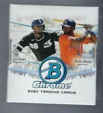 2020 Bowman Chrome béisbol Hobby Caja Sellada De Fábrica