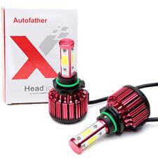 4-Side CREE LED 9006 HB4 Headlight Kit 48000lm Low Beam Bulb Car Fog Lamp 480W
