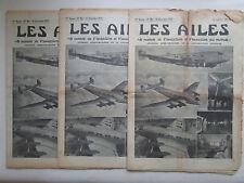 AILES 1937 861 JU-90 BREDA 88 FURIO NICLOT LATE-631 PLUME OISEAU CHERBOURG POU