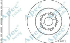 1x OE Quality Replacement Rear Axle Apec Vented Brake Disc 5 Stud 307mm - Single