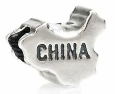 TEDORA CHINA BEAD AUTHENTIC 925 STERLING SILVER FIT EUROPEAN CHARM BEADS S 014