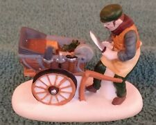 "Dept. 56 Dickens Village ""Knife Grinder"" Incomplete set, Iob"