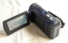 Sony Dcr-Sx41 8Gb Blue Digital Camcorder Carl Zeiss Lens & Charger + 2Gb Sd Card