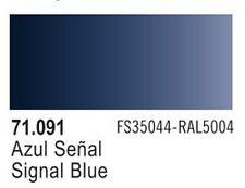 Vallejo Signal Blue Model Air Color 17ml Bottle Paint 71.091 VLJ71091