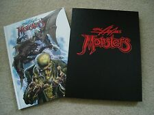 Neal Adams Monsters Deluxe Signed Limited Slipcased HC Vanguard Productions