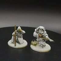 Well Painted 28mm Bolt Action Soviet 2 man Sniper team Ww2 Warlord Games