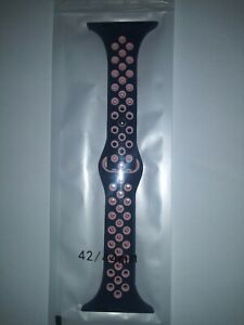 Smart Watch Band 42/44mm Black&pink