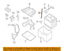 NISSAN OEM Battery-Hold Down Bracket Clamp Tie Bolt 244258991A