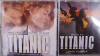 Titanic/ Back to Titanic- 2 CDs- OST by James Horner NEU
