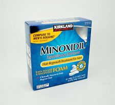 6 mese Schiuma Kirkland Signature MINOXIDIL 5% degli uomini soluzione di perdita di capelli ricrescita