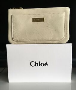"""Chloe Makeup Pouch Cosmetic Bag Purse/Clutch - Adorable New - 8""""x5"""" - Chic Sexy"""