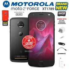 New & Sealed Factory Unlocked MOTOROLA MOTO Z2 Force XT1789 Black Android Phone